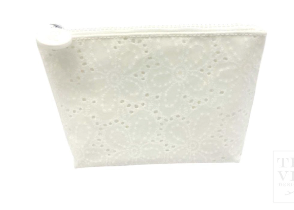 Daisy Eyelet Cosmetic Bag