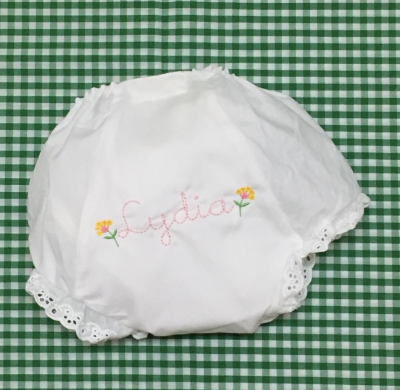 White Eyelet Bloomers - Design your own!