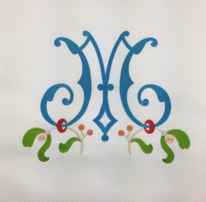 Diamond Matelass̩é Shower Curtain