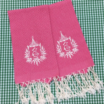 Solid Turkish Guest Towel (Various colors)