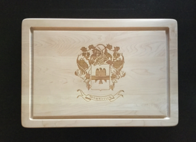 Hard Maple Cutting Boards, Engraved. (Various sizes) By 8fd Designs