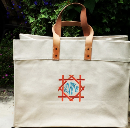 Canvas Box Tote