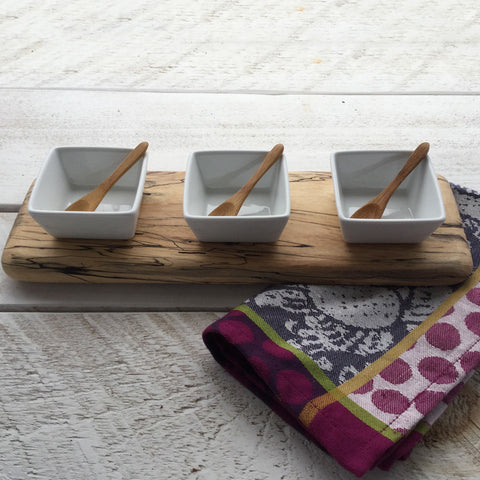 Small Dip Tray - Sweet Gum. By 8fd Designs