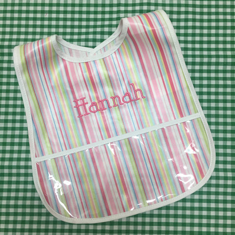 Laminated Bib, by 3Marthas (Various colors)
