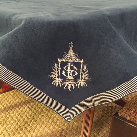Card Table Cover, 44