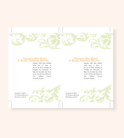 Printable Invitation File in Any Style