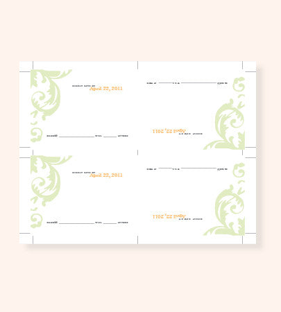 Printable RSVP File in any Style