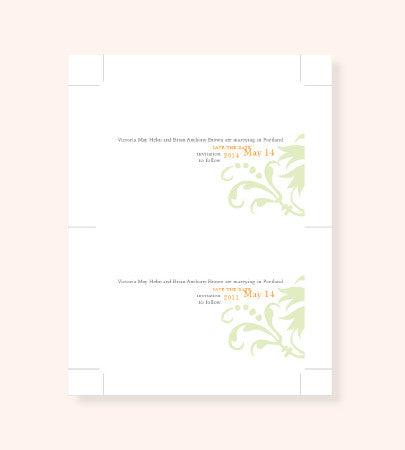 Printable Save the Date File in Any Style