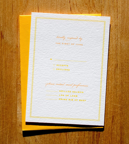 Willa RSVP Card