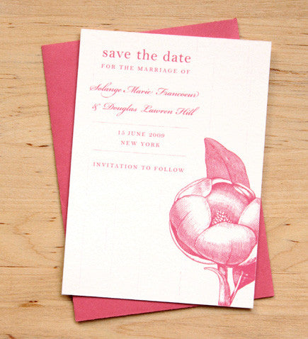Magnolia Save the Date