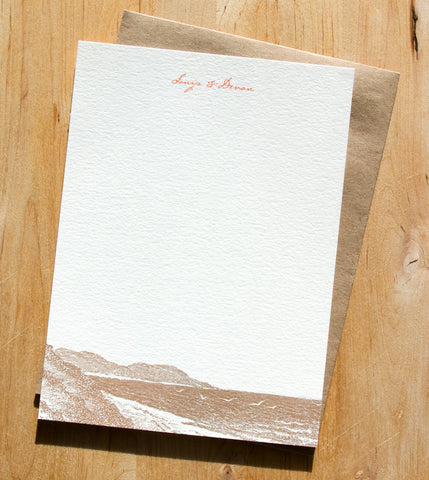 Pacifica Thank You Card
