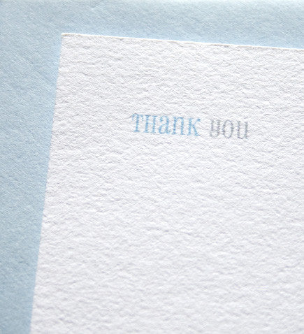 Ginger Thank You Card