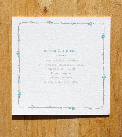 Cottage Invitation