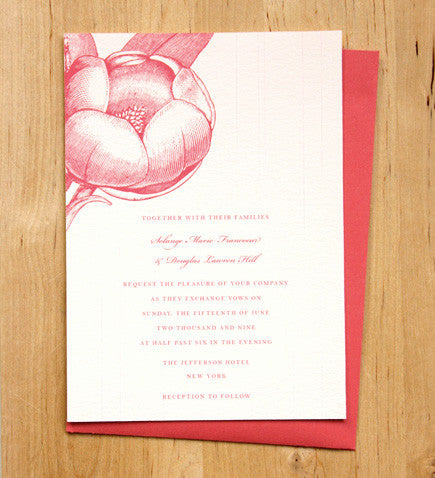 Magnolia Invitation