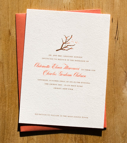 Manzanita Invitation