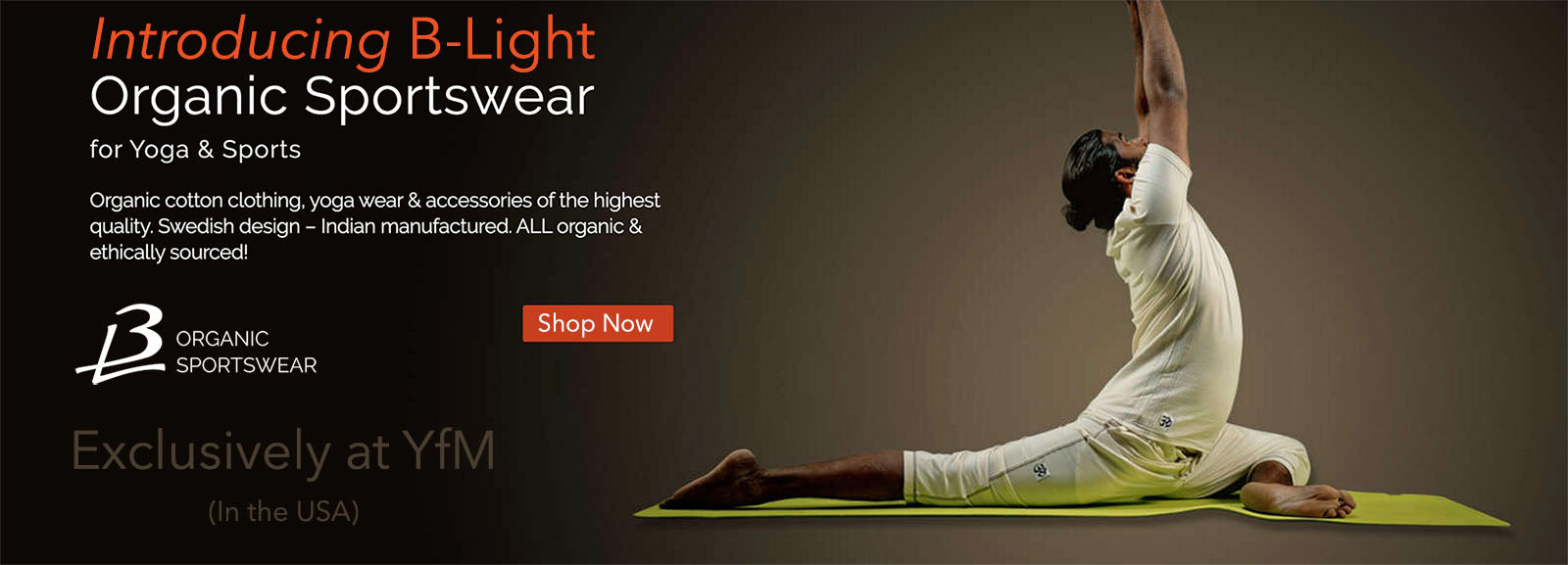 B-Light Organic Yoga and Sportswear