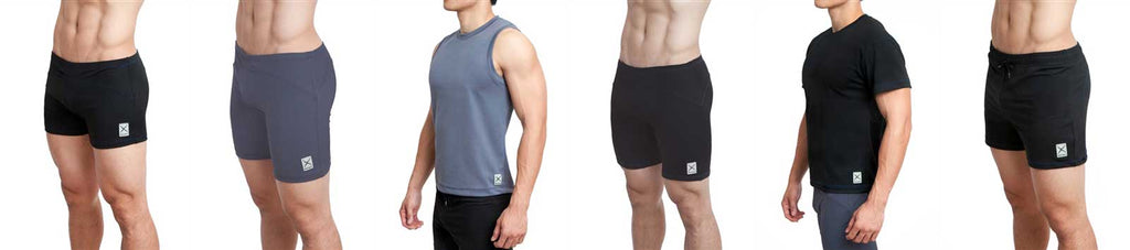 Eros Sport Shorts and Shirts for Yoga, Pilates, Running, Sports, and more