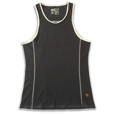Men's Yoga Shirts - Bhujang Style Orphic Tank Top By Yoga For Men