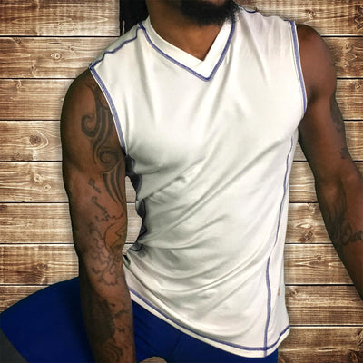 Men's Yoga Shirts - Bhujang Style Orphic Strong Arm Tank Top
