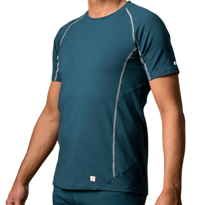 Men's Yoga Shirts - B-Light Organic Cotton T-Shirt Manacala