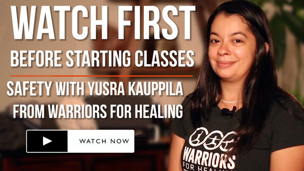 Watch First Before Beginning Classes