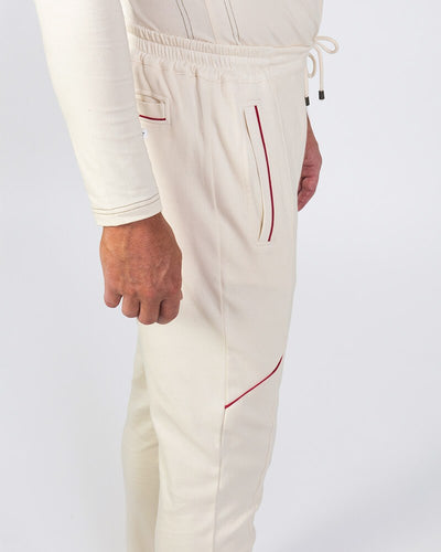 Men's Yoga Pants - B-Light - Organic Cotton Jog Pant, Lambe - Natural