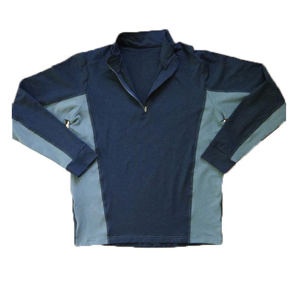 Men's Yoga Shirts - Bhujang Style 1/4 Zip Pull-over