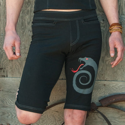 Men's Yoga Shorts - Bhujang Style Limited Edition Viper Shorts