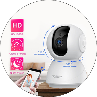 IP Security CCTV WiFi Wireless Camera