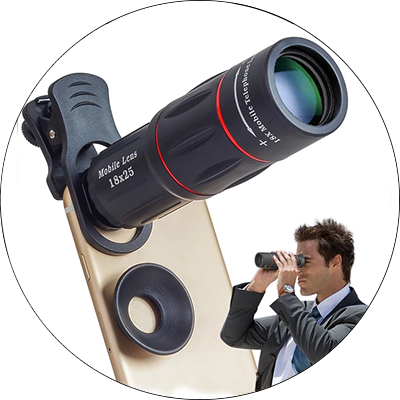 Mobile Phone 18X Telescope Zoom Camera Lens