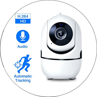1080P Full HD Wireless Wifi IP CCTV Camera