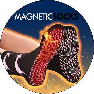 Tourmaline Self-Heating Magnetic Socks