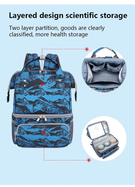 Aifi Cool - Thermal Insulated Milk Storage Nursing Diaper Bag - Aifi Diaper Bags