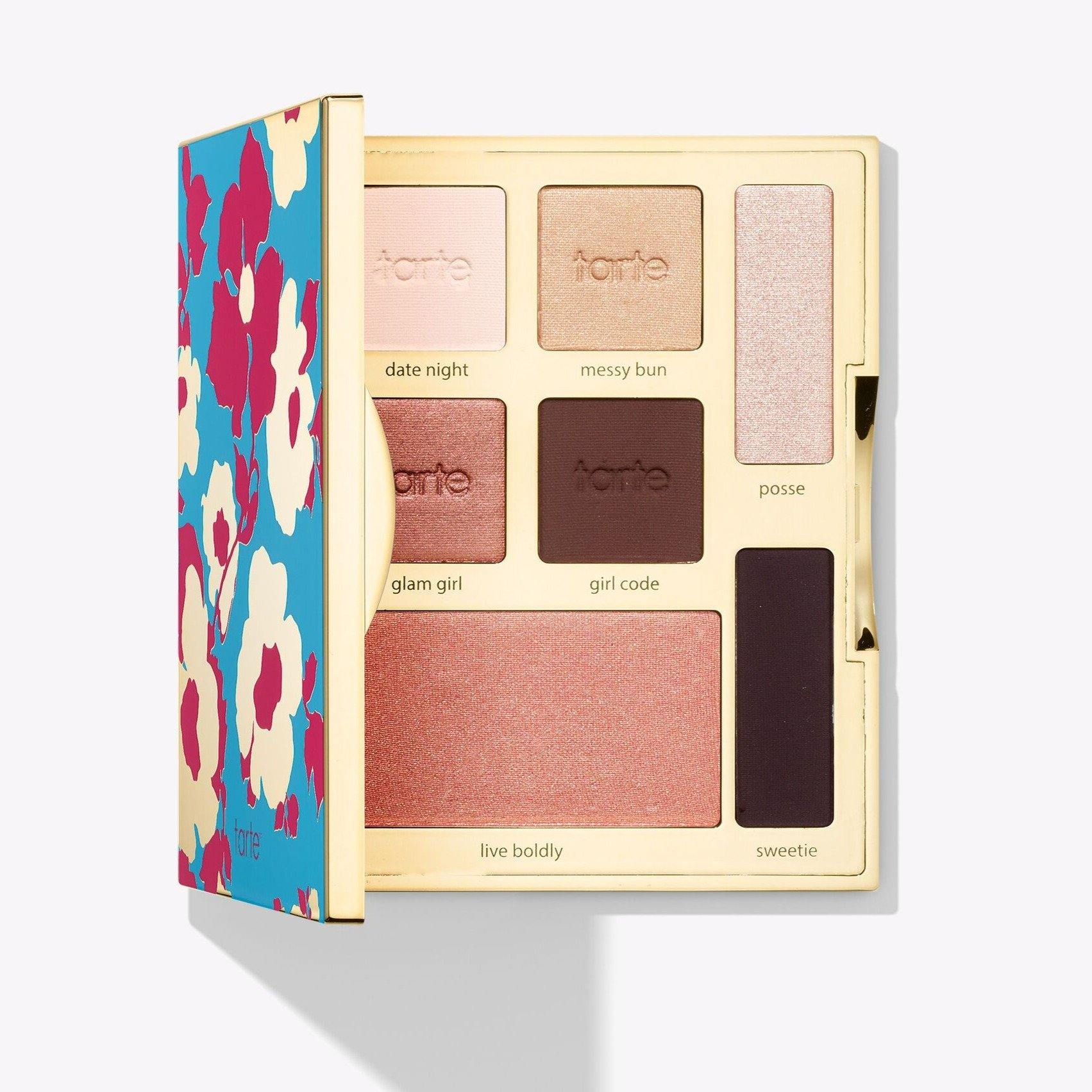 Tarte - limited-edition happy girls shine brighter eye & cheek palette - Lemon and Twig