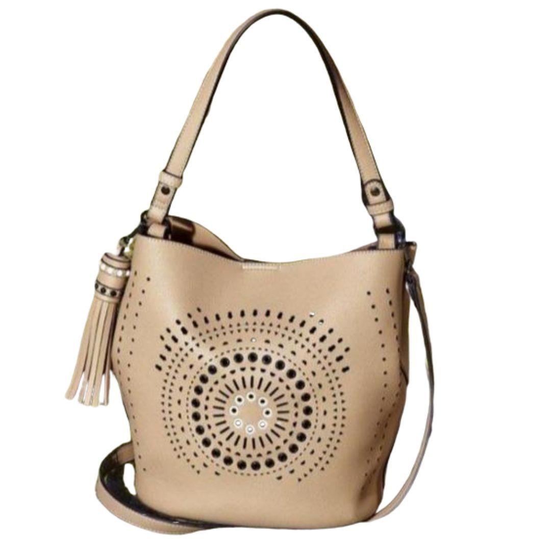 Carpisa -Cruz Range-Bucket Handbag - Lemon and Twig