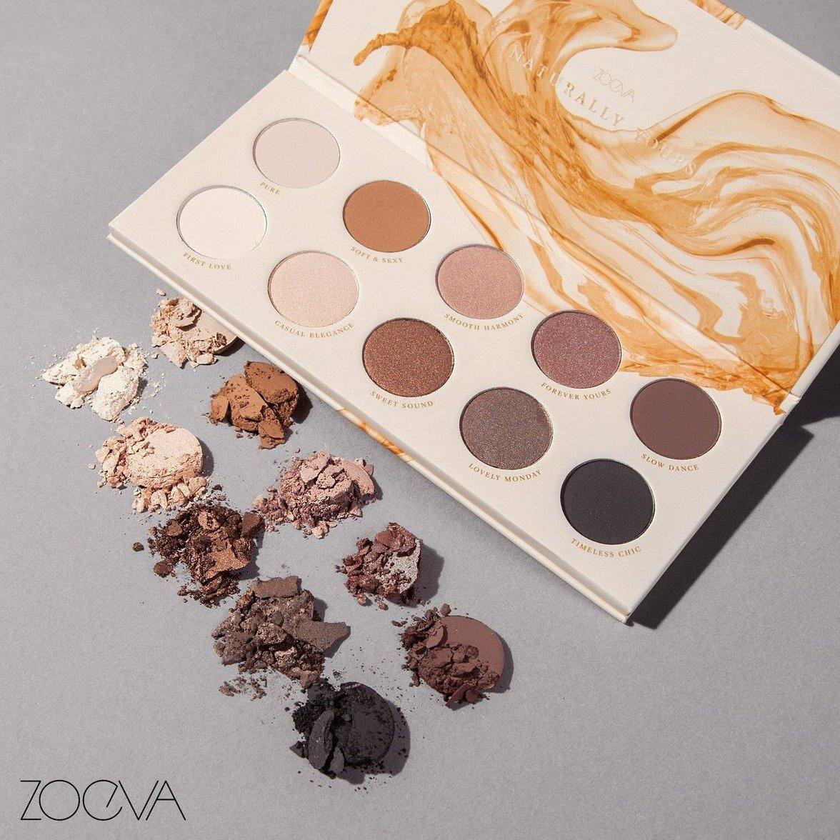ZOEVA - NATURALLY YOURS EYESHADOW PALETTE - Lemon and Twig