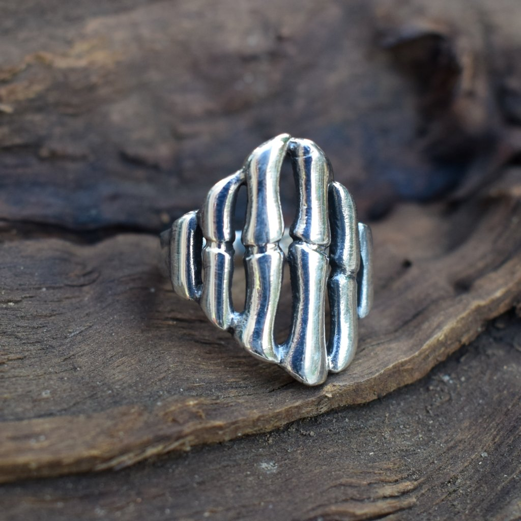 Stoneless Sterling Silver Ring - Lemon and Twig