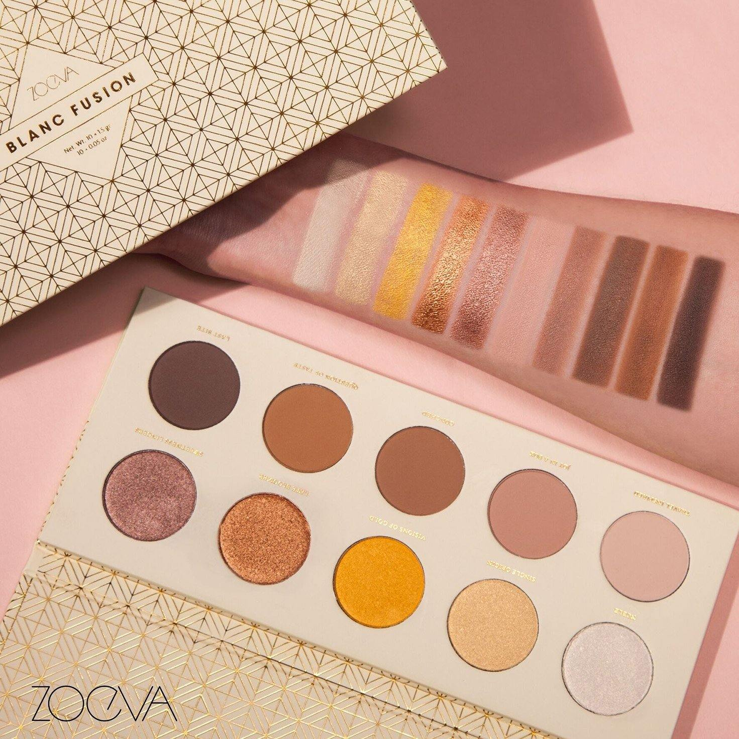 ZOEVA - BLANC FUSION EYESHADOW PALETTE - Lemon and Twig