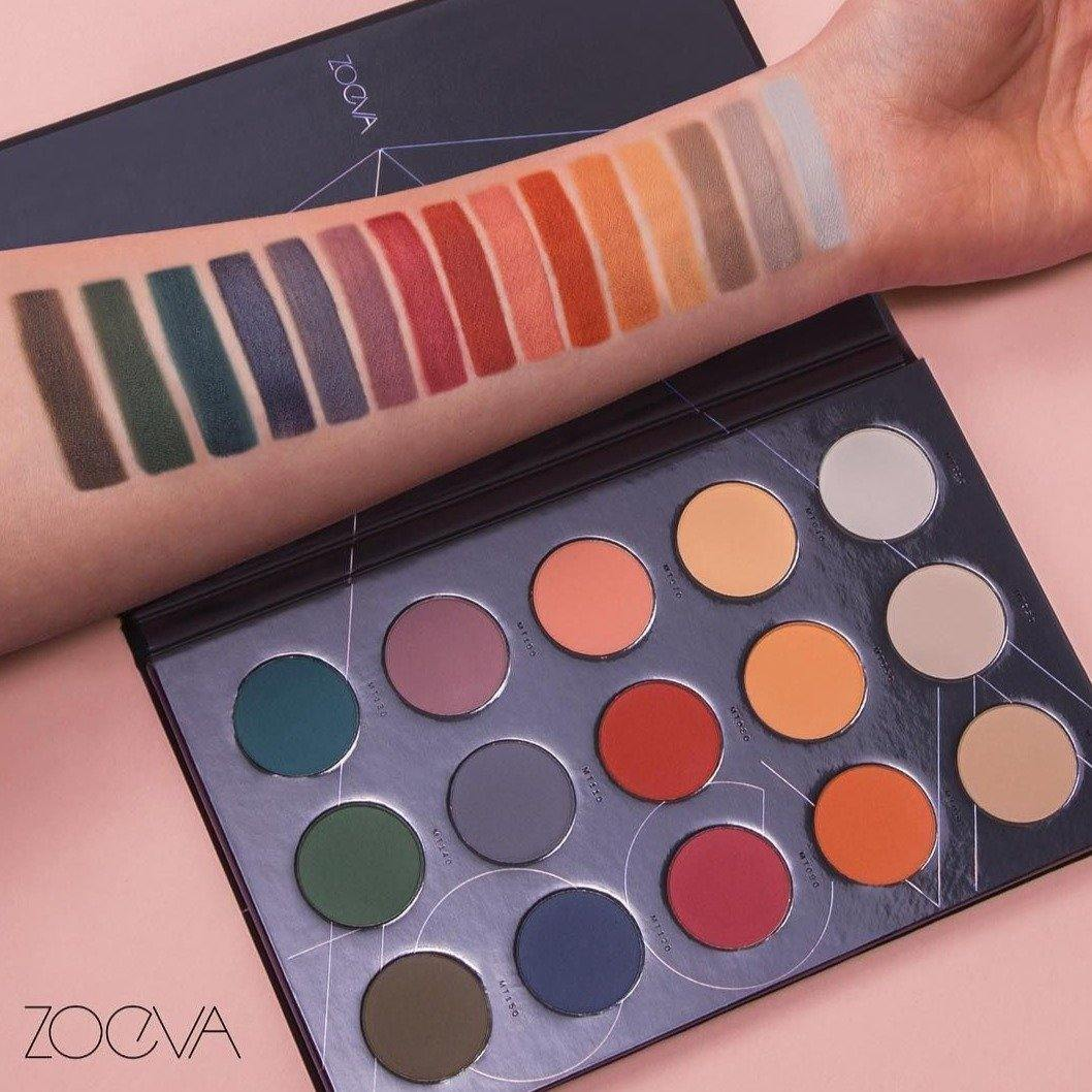 ZOEVA - MATTE SPECTRUM EYESHADOW PALETTE - Lemon and Twig