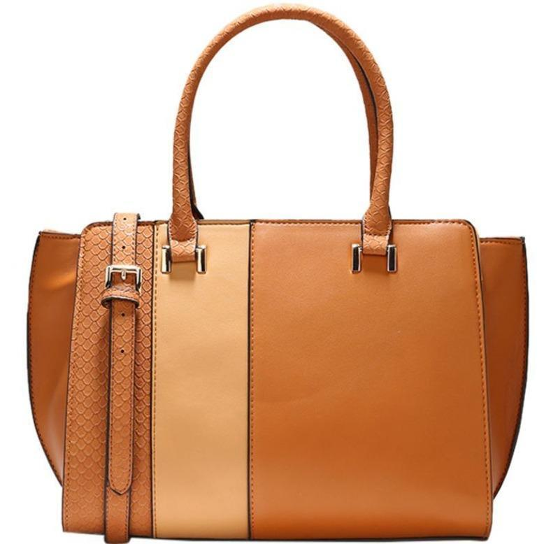 Carpisa-Elide Satchel Handbag - Lemon and Twig