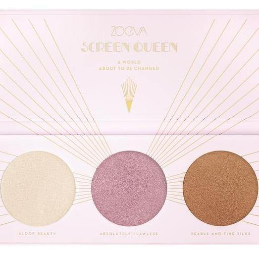 ZOEVA - SCREEN QUEEN HIGHLIGHTING PALETTE - Lemon and Twig