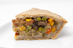 "Harvest Vegetable 'Chicken' Pot Pie (9"" Round & Deep Dish) - Bunner's Bakeshop"