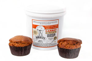 Carrot Ginger Muffin Bucket