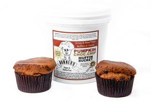 Pumpkin Chocolate Chip Muffin Bucket