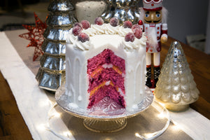 Cranberry Clementine Holiday Cake