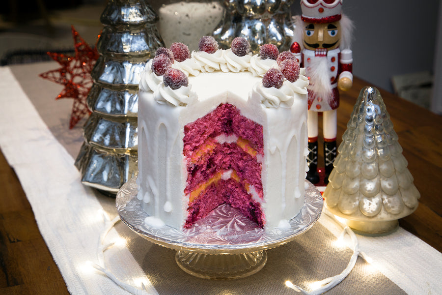 Cranberry Clementine Holiday Cake - Bunner's Bakeshop