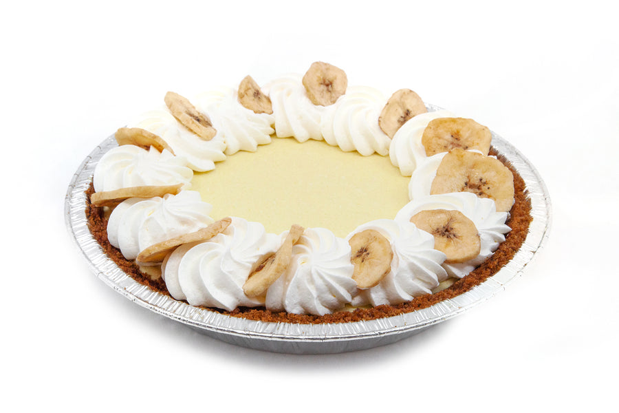 Banana Cream Pie w/ Graham Crumble Crust