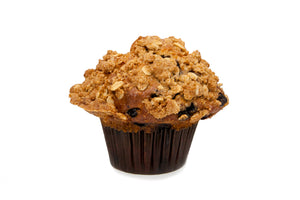 Blueberry Oat Crumble Muffin