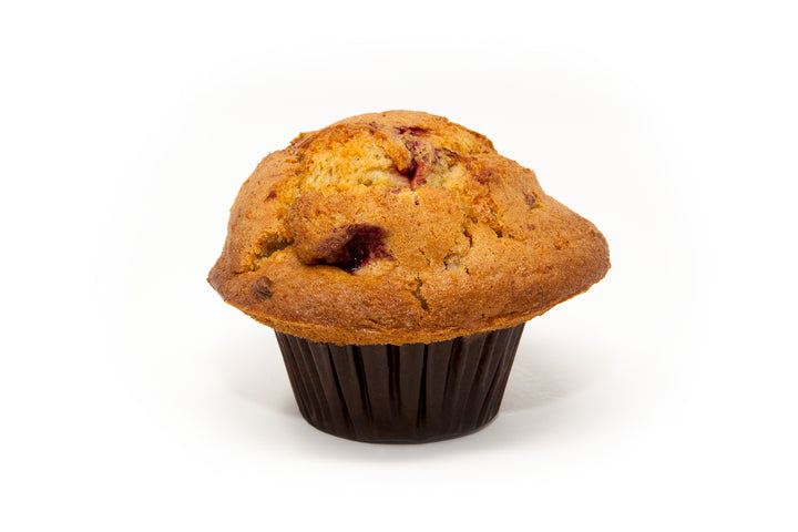 Raspberry Lemon Muffin - Bunner's Bakeshop
