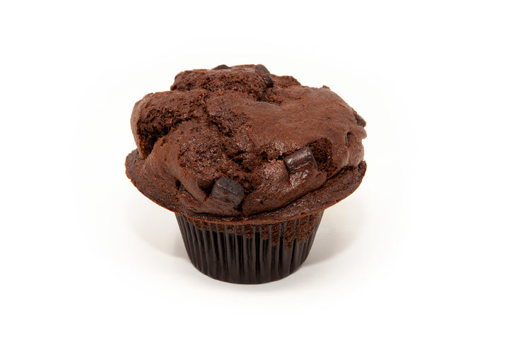 Triple Chocolate Chunk Muffin - Bunner's Bakeshop